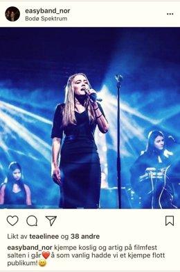 FOTO: Hentet fra bandets instagramprofil.