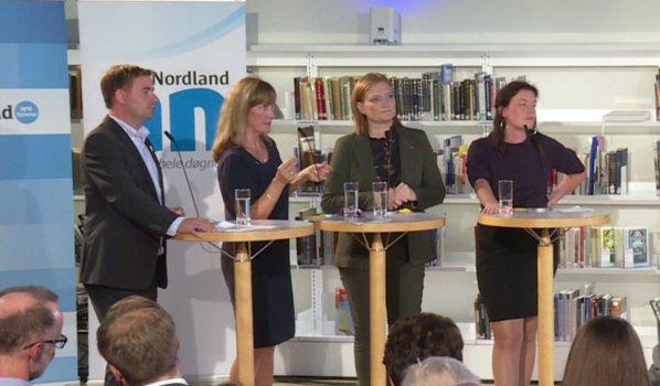 Debatt på Stormen Bibliotek.